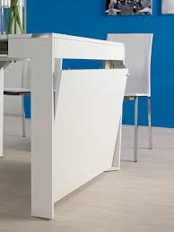 inside expandable console to dining table gravitymart com