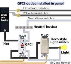 gfci outlet with light switch pool gfci light switch wiring diagrams free download wiring diagrams