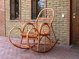 rattan rocking chairs laurel d lounge rocker rattan garden rocking