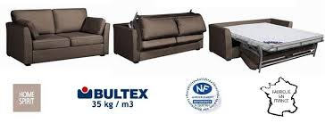 canapé convertible confortable pas cher canap couchage quotidien lit convertible home spirit grand