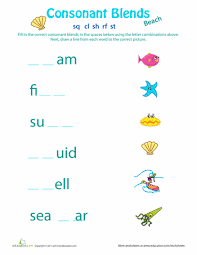 blending worksheets free worksheets library download and print