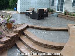 Pool Patio Pavers by Goffstown Granite Steps Pictures Urellas Irrigation