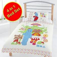 night garden friends junior toddler 4 1 bedding