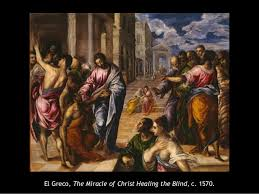 Christ Healing The Blind Ahtr Disability In Art History