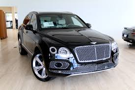 bentley jeep black 2018 bentley bentayga w12 signature stock 8n017200 for sale near