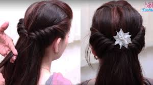 easy hair style for long hair ladies hair style videos 2017