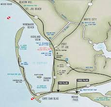 Port St Joe Florida Map by Cape San Blas Map U2013 Owtx
