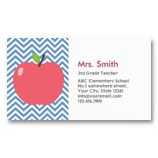 apple business card template best 25 teacher business cards ideas
