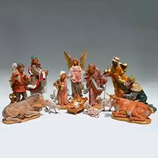 fontanini masterpiece collection nativity set 12