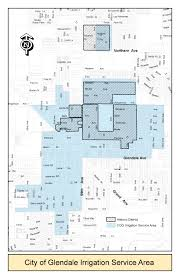 Maricopa County Zip Code Map by City Of Glendale Arizona My Water Irrigation Division
