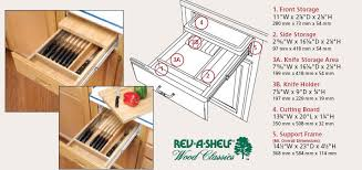 cabinet door knife holder cabinet door shop a closer look at your cabinet doors and products