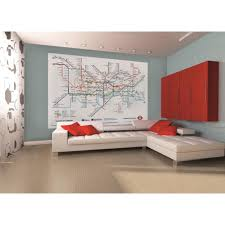 28 1 wall murals 1 wall new york window skyline giant 1 wall murals 1 wall london underground subway map wallpaper mural 1 58m