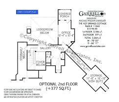hot house plans hot springs cottage house plan house plans by garrell associates