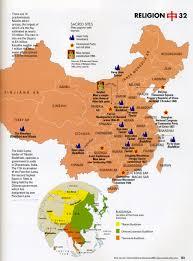 World Religions Map Neh Institute 2008