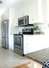 removable kitchen backsplash white subway tile kitchen backsplash photos a white subway tile