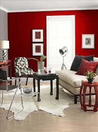 living room with red accents 53 bold red accent walls to beautify your home homesthetics