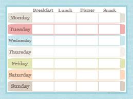 menu planners templates menu planner and grocery list printable set menu planners