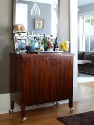 mid century bar cabinet small modern mid century bar cabinet regarding liquor cabinets foter