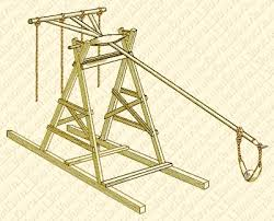 siege engines the trebuchet