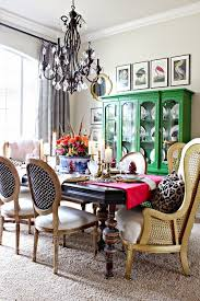Eclectic Dining Room Chairs Best 25 Green Dining Room Furniture Ideas On Pinterest Green