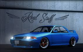 stanced nissan skyline virtual stance works nissan skyline r32 sedan