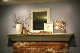 it important physically place ornaments fireplace mantel brick