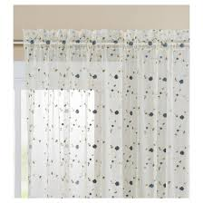 valerina rose embroidered curtain panel vcny home target