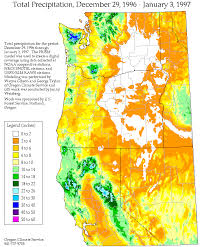 map of oregon nevada cnrfc summaries december 26 1996 january 3 1997
