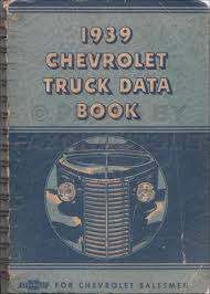 1939 chevrolet pickup and truck reprint owner u0027s manual package