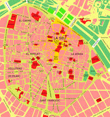 Map Of Valencia Spain by Valencia Spain Location U2022 Mapsof Net