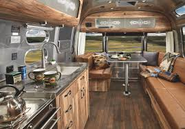 Celebrate Home Interiors by Iconic Airstream Gets A Magnificent Revamp To Celebrate The