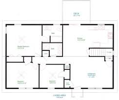 Single Story Ranch Style House Plans Ranch Plans One Story Ranch House Plans On 4 Bedroom Ranch Floor
