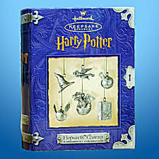 hogwarts charms harry potter hallmark pewter ornament harry