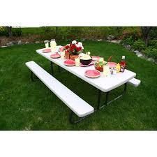 Lifetime Folding Picnic Table Costco Picnic Tables Lifetime Home Table Decoration