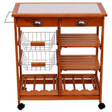Shop  Kitchen Islands  Carts Wayfair - Kitchen cart table