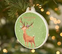 personalized tree ornaments pottery barn