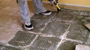 Cost To Replace Bathroom Tile Removing Ceramic Floor Tile Home Design