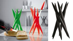 Unique Kitchen Knives A Knife Holder That Looks More Dangerous Than The Blades