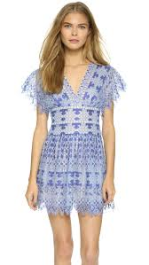 bcbgmaxazria taran dress royal blue combo in blue lyst