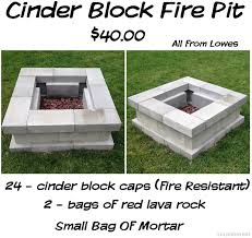 Cost Of Landscaping Rocks by 24 Fire Resistant Cinder Block Caps 2 Bags Of Lava Rock And A Bag