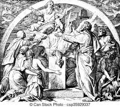 drawings of noah s thanksgiving sacrifice these engravings were