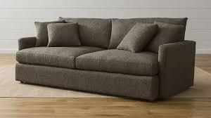 Large Sofa Beds Everyday Use Lounge Ii Large Deep Sofa Crate And Barrel