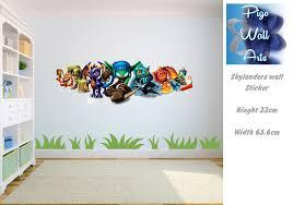 skylanders wall sticker mural wall art sticker children 039 s skylanders wall sticker