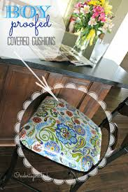 26 best dining chair cushions with ties images on pinterest boy proof laminated seat cushions at onekriegerchick