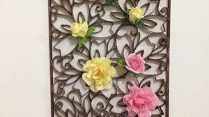 cornici fatte a mano crea una bellissima decorazione da parete di carta fai da te