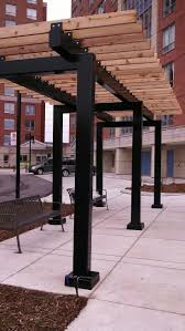 15 X 15 Metal Gazebo by Best 25 Steel Gazebo Ideas On Pinterest I Beam Pergolas And