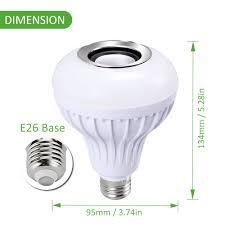 Bluetooth Light Bulb Speaker Led Bulb Speaker Rgb Bluetooth Connected Ustellar
