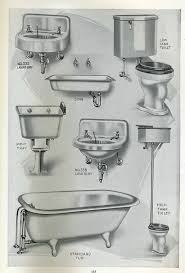 Bathroom Plumbing Fixtures Plumbing Fixtures From 1923 Pacific House Kit Catalog 1910s
