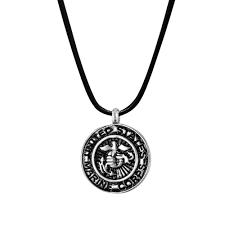 memorial necklace b96467 u s marine corps badge memorial necklace anavia