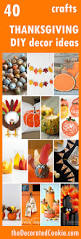 40 diy thanksgiving decorations ideas decorated cookie